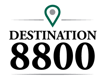 Destination 8800 logo