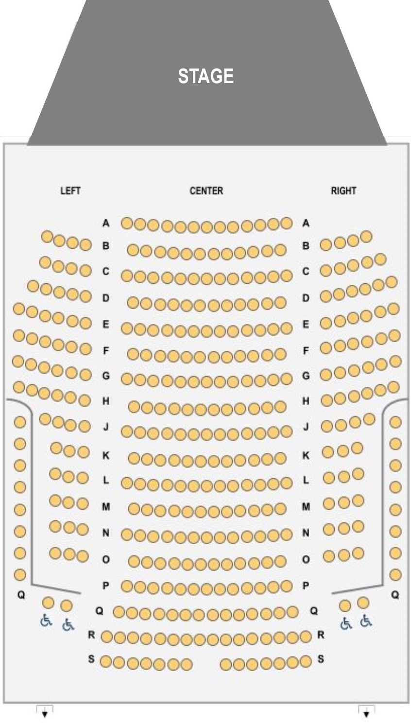 Schwan Concert Hall Seating Chart