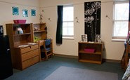Image of two-person residence hall room