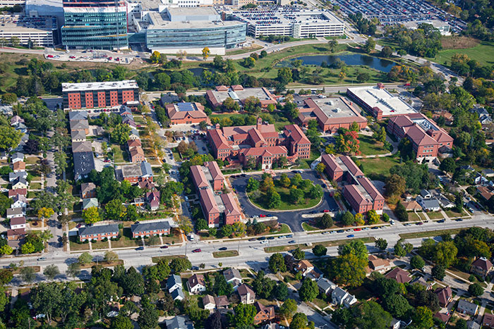 2019 Aerial View of Campus